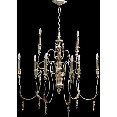 Horchow antique white french restoration candle chandelier 32 x 34 horchow antique white french restoration candle chandelier 32 x 34 mozeypictures Choice Image