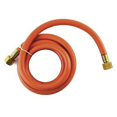 2m Propane Gas Hose Female Connector 8mm Bore For Regulators Torches SIL344
