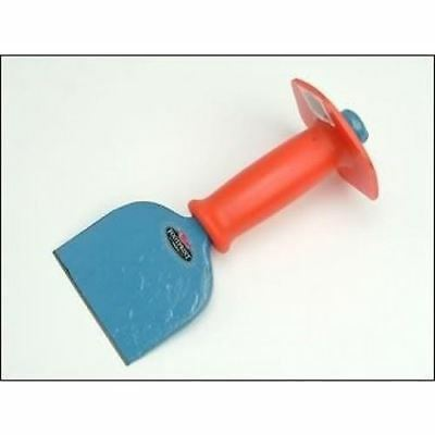 """Footprint Brick Block Bolster With Safety Hand Guard 4""""/100mm Made In Sheffield"""