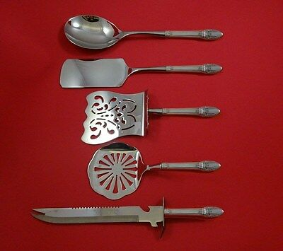 First Love by 1847 Rogers Plate Silverplate Brunch Serving Set 5pc HHWS  Custom
