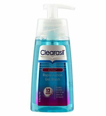 Clearasil Ultra Rapid Action Gel Wash 12 hours 150ml