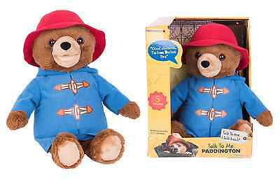 Paddington bear Talk To Me 36cm Movie Talking Bear Soft Toy by Rainbow Designs