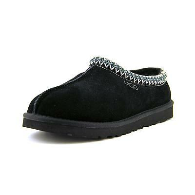 Ugg Australia Tasman Men  Round Toe Suede Black Slipper