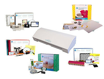 Silhouette Cameo 3 Bluetooth Plus 2 Starter Kits of your CHOICE