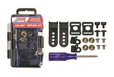New A&R Hockey Helmet Coaches Players Repair Kit w Case, Parts & Screwdriver