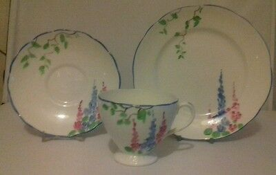Foley  China Lawleys Trio Cup Saucer Side Plate
