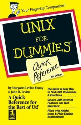 UNIX For Dummies: Quick Reference, 4th Edit... by Young, Margaret Levi Paperback