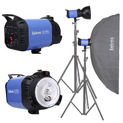 Selens 400W 220v Studio Flash Photo Studio Lighting Strobe Flash SF-400A