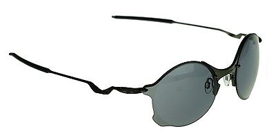 17d4c43a9f8 NEW Authentic OAKLEY TAILEND Carbon w  Grey Lens Mens Oval Sunglasses OO  4088-05