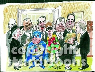 Griffin - Fools and Wakes - Only Fools and Horses Cartoon Print