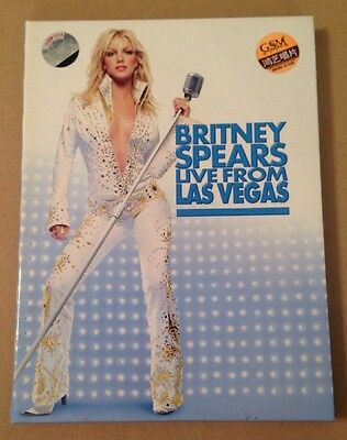 Britney Spears - Live From Las Vegas Concert Rare Japanese Release Dvd + Poster
