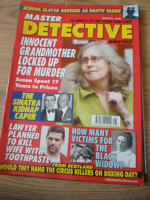 Master Detective Magazine*may 2016*true Crime Cases Stories*english