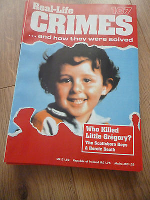 Real-Life Crimes Magazine*#107*who Killed Little Gregory?*true Cases*english