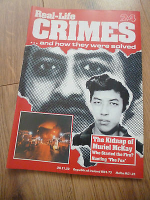 Real-Life Crimes Magazine*#24*the Kidnap Of Muriel Mckay*true Case*