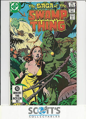 Saga of Swamp Thing  #8  VG