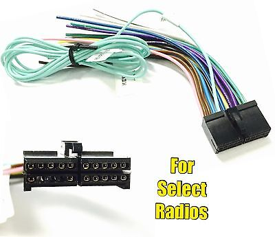 car stereo radio replacement wire harness plug for select jensen 20 pin radio wire plug harness for boss bv9973 bv9978 bv9979b 9980b