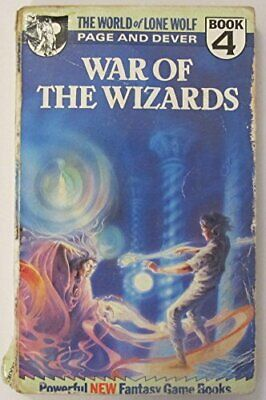 War of the Wizards (World of Lone Wolf) by Page, Ian Paperback Book The Cheap