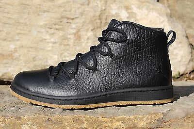 14 New Men's Nike Jordan Galaxy Black Basketball Leather Shoes 820255 011 8.5-13