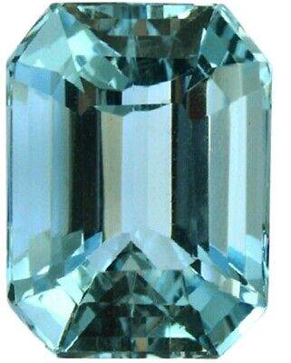 Natural Emerald Champagne Zircon 3.2ct 8x10mm Faceted Cut AAAAA VVS Loose Gems