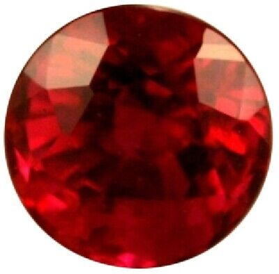 Natural Extra Fine Rich Red Ruby - Round - Africa - Extra Fine Grade