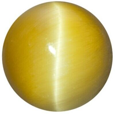 Natural Fine Golden Honey Tiger's Eye - Round Cabochon - South Africa - AAA Grad