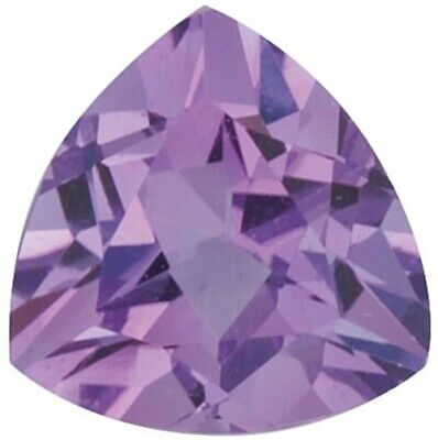 Natural Fine Violet Lilac Amethyst - Trillion - Brazil - AAA Grade