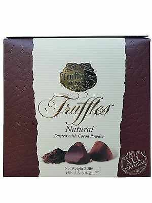 Truffettes de France Exquisite Truffles Natural Dusted with Cocoa Powder 2.2LB