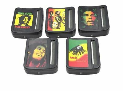 Bob Marley Automatic Cigarette Tobacco Smoking Rolling Machine Roller Box