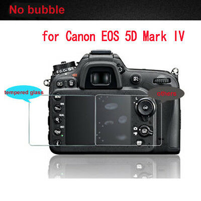 Scratch Resist Tempered Glass Screen protector film for Canon EOS 5D Mark IV 4