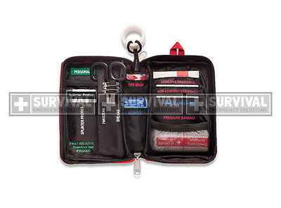 SURVIVAL Compact First Aid KIT - portable, for bags, bikes, hiking, outdoors