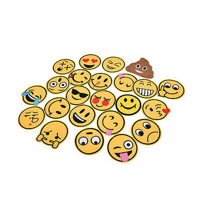 emoji expression Iron on Patches Embroidered Badge Applique patch gg