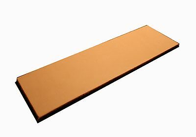 """Leather Knife Sharpening Strop 8"""" x 2.25 honing 2 sided blades"""