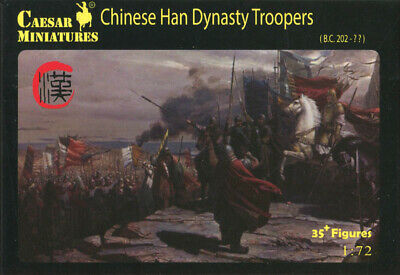 Caesar Miniatures 1/72 043 Chinese Han Dynasty Troopers (35 Figures)