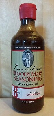 2-Demitris Classic Bloody Mary Seasoning Mix 16 oz ea.  All Natural Ingredients