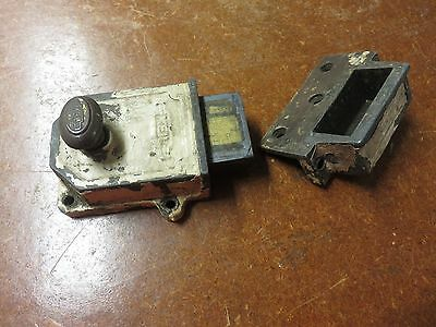 Antique Vintage Keil Dead Bolt Lock Heavy Duty Rare