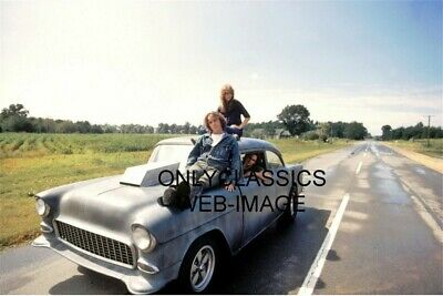 1971 Two Lane Blacktop Movie Photo Hot Rod 1955 Chevy Drag Car Route 66 Highway