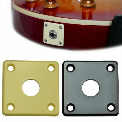 Plastic Jack Plate for Epiphone Les Paul Electric Guitars