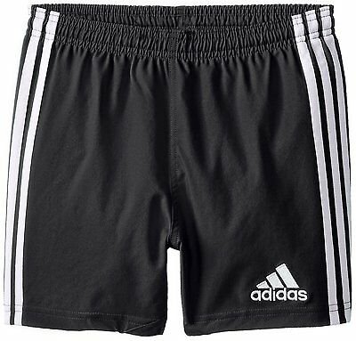 Adidas Youth Training Shorts Size Small S Black/White Climalite Soccer NEW NWT