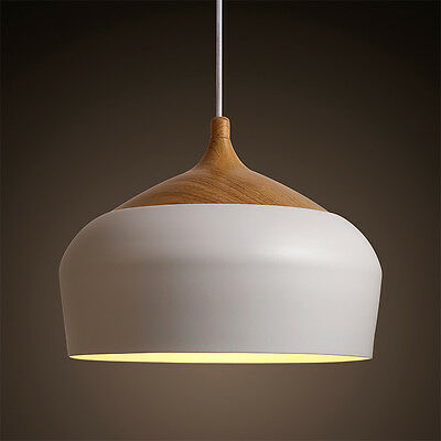 Nordic Japan Simple Wood Style Pendant Light Hanging Lamp Suspension Chandeliers