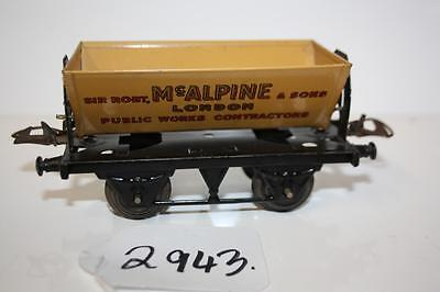 hornby o gauge  side  tipping wagon in box  2943
