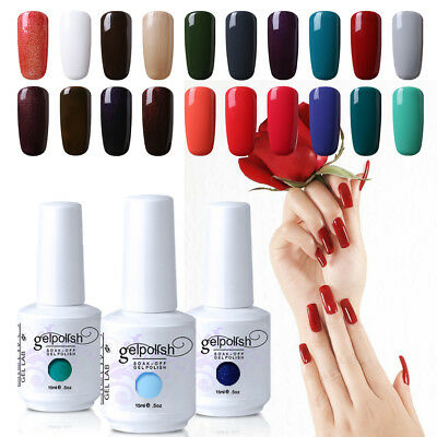 GEL LAB 15ml Soak Off UV Gel Polish Top Base Coat DIY Nail Salon Manicure