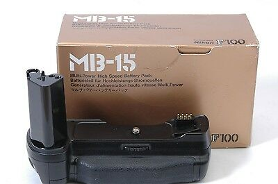 Nikon MB-15  Multi Power High Speed Battery/Pack Grip for F100 Camera Body