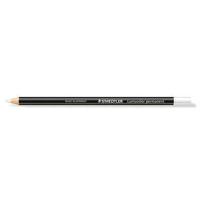 Staedtler 108 20 Lumocolor Permanent Glasochrom White (12)