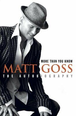 More Than You Know by Goss, Matt Paperback Book The Cheap Fast Free Post