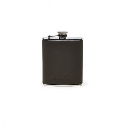 NEW FILSON LEATHER And STAINLESS STEEL FLASK MOSS 69201