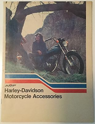 Vintage 1976 Amf Harley Davidson Motorcycle Accessories Catalog