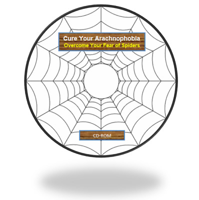 Cure Your Arachnophobia, Overcome Fear of Spiders, eBook & Audio MP3 guide on CD