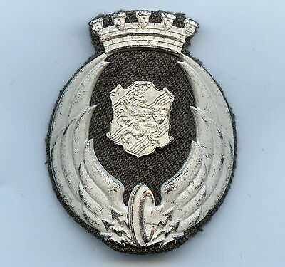 Sweden Railroad Cap Badge Nice Condition !!!