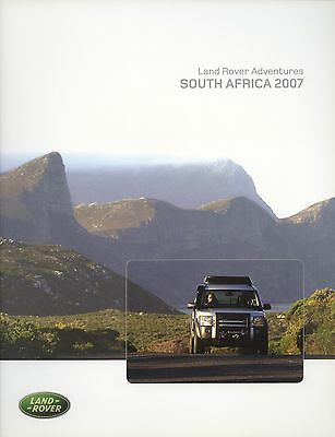 Land Rover Adventures South Africa 2007 Brochure
