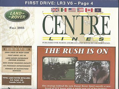 Land Rover May 2005 Centre Lines Dealer Newspaper